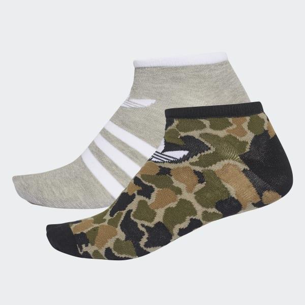 Trefoil Liner Socks 2 Pairs Multicolour CE5717