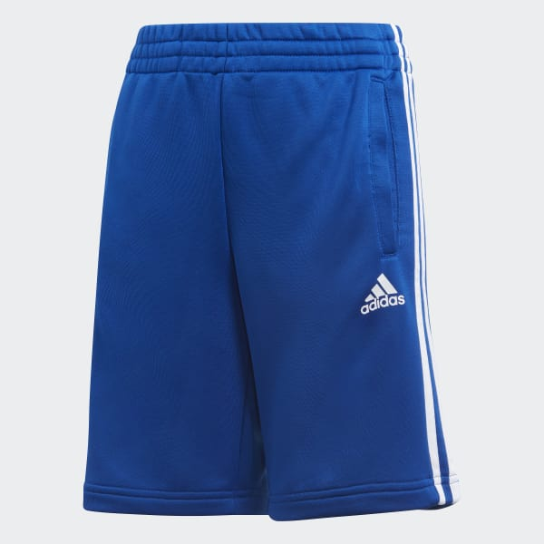 Essentials 3-Stripes Shorts Blue CF2657