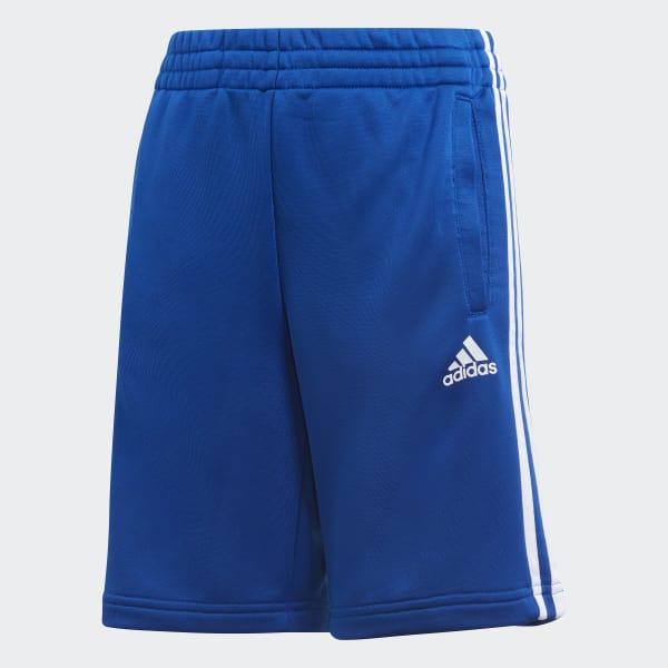 Pantalón corto Essentials 3 bandas Azul CF2657