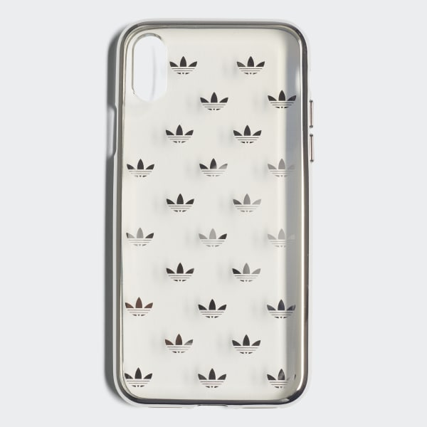 Clear iPhone X Schutzhülle silber CJ6216
