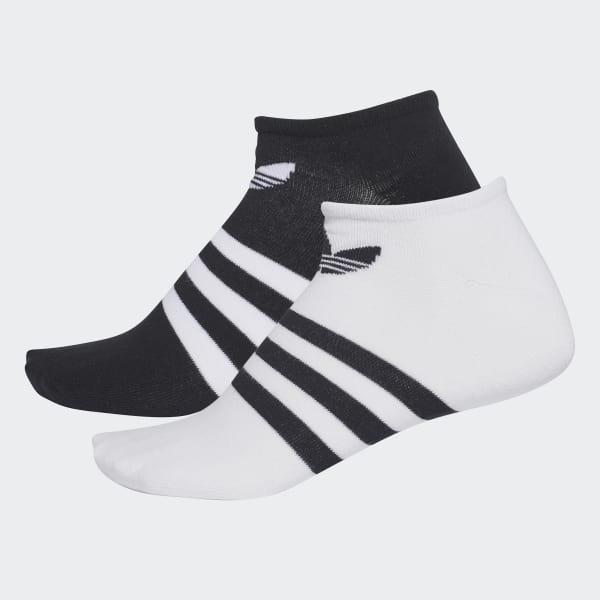 Calcetines tobilleros Trefoil Negro CE5730