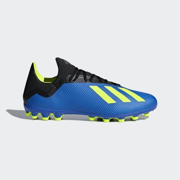 Bota de fútbol X 18.3 césped artificial Azul CG7163