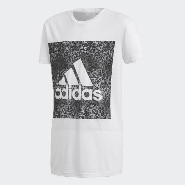 T-shirt Essentials Logo in the Box Bianco CF7249