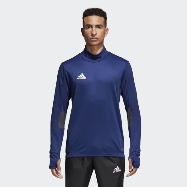 T-shirt d'entraînement Tiro 17 bleu BQ2751