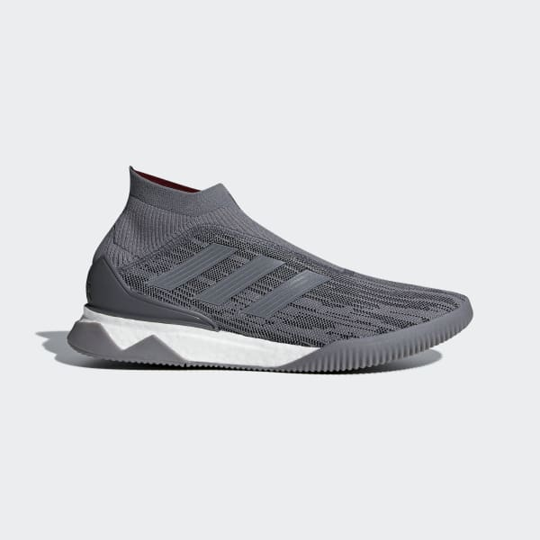 Paul Pogba Predator 18+ Trainers Grey AC7455