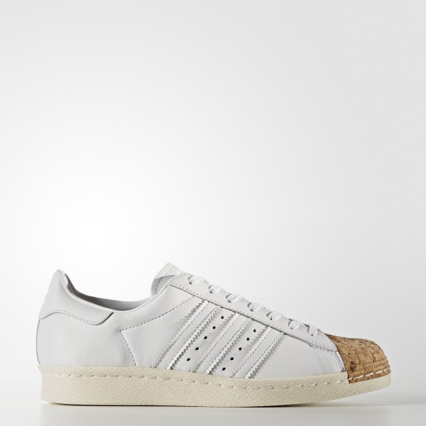 Chaussure Superstar 80s blanc BA7605