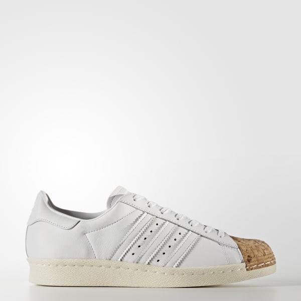 Superstar 80s Schuh weiß BA7605