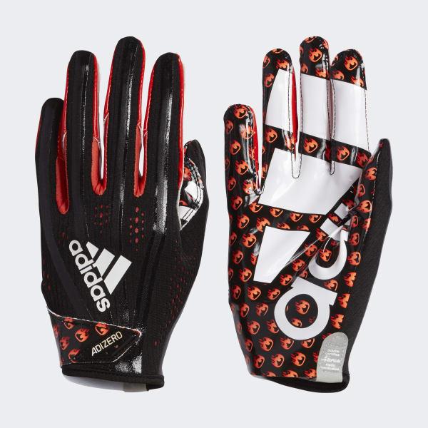 Adizero 5-Star 7.0 Emoji Fire Gloves Black CJ9098