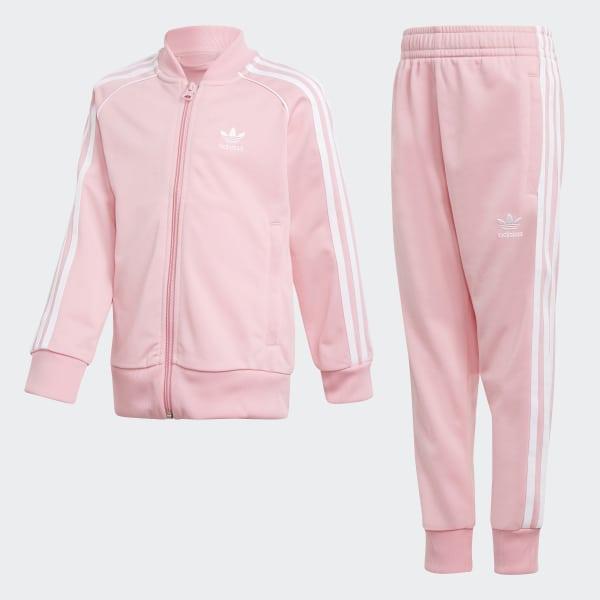 Trefoil SST Track Suit Pink DN8166
