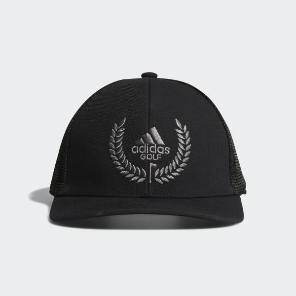 Wreath Crest Hat Black CW0820