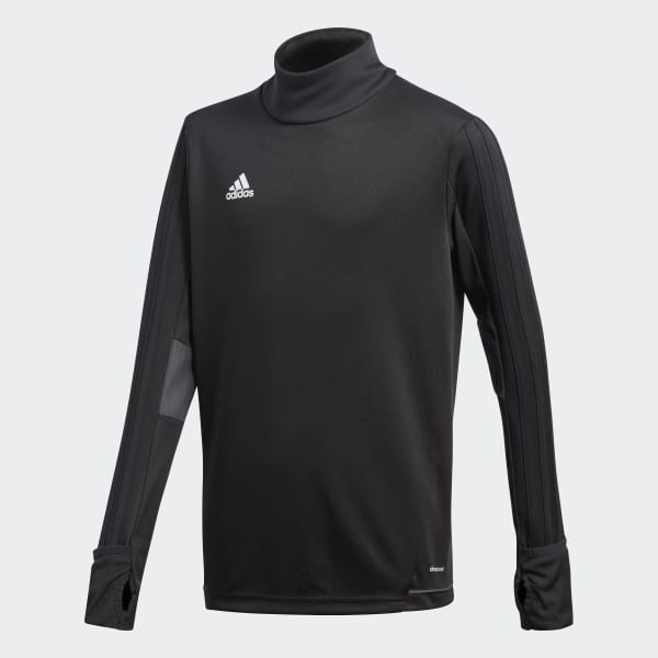 Tiro17 Trainingsshirt schwarz BK0293