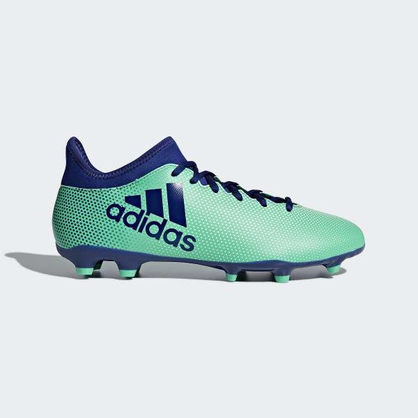 Zapatos de Fútbol X 17.3 Terreno Firme Verde CP9194