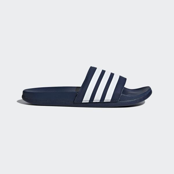 Adilette Cloudfoam Plus Stripes Slides Blue DA9340