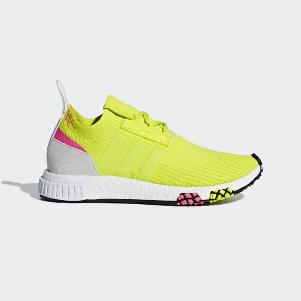 NMD_Racer Primeknit Shoes Yellow AQ1137