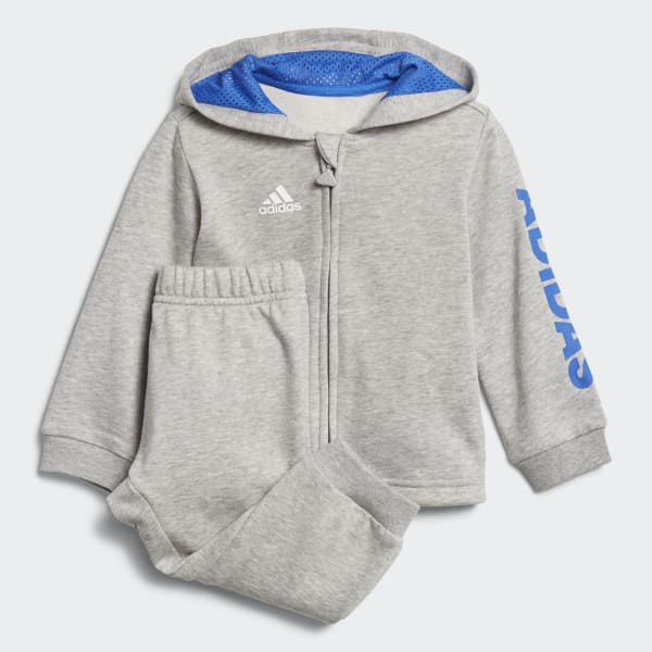 Linear Hooded Jogger Grey DJ1582