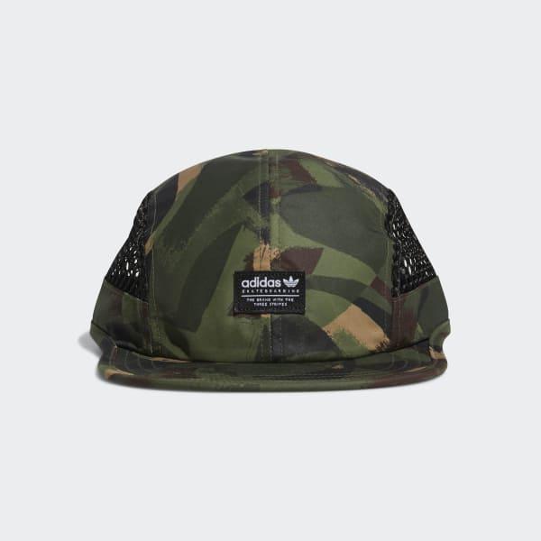 Camouflage Four-Panel Kappe mehrfarbig CE2608