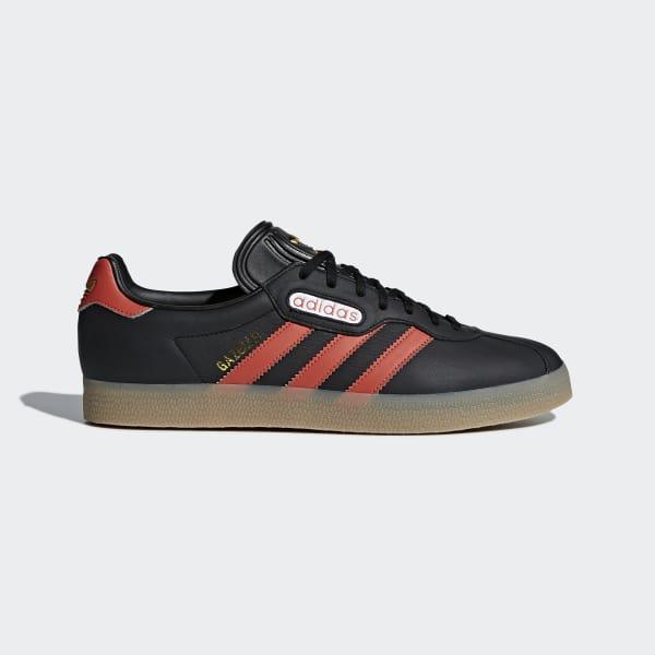 Gazelle Super Shoes Black CQ2797
