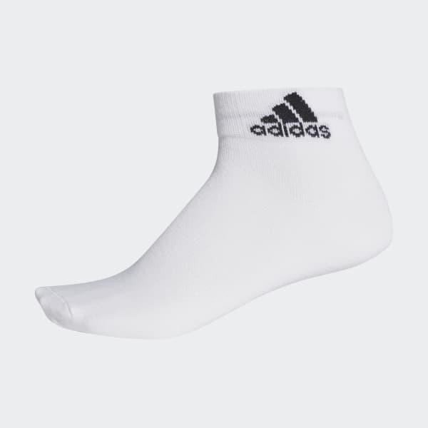 Meia Ankle Mid Thin Branco AA2323