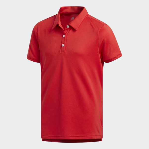 Tournament Polo Shirt Red CD3734