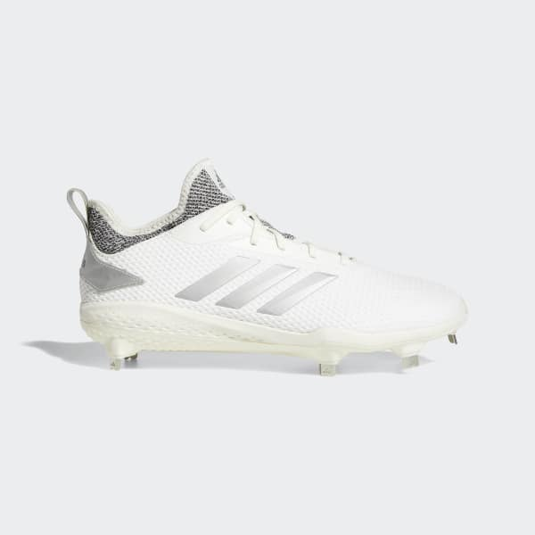 Adizero Afterburner V Cleats White CG5224