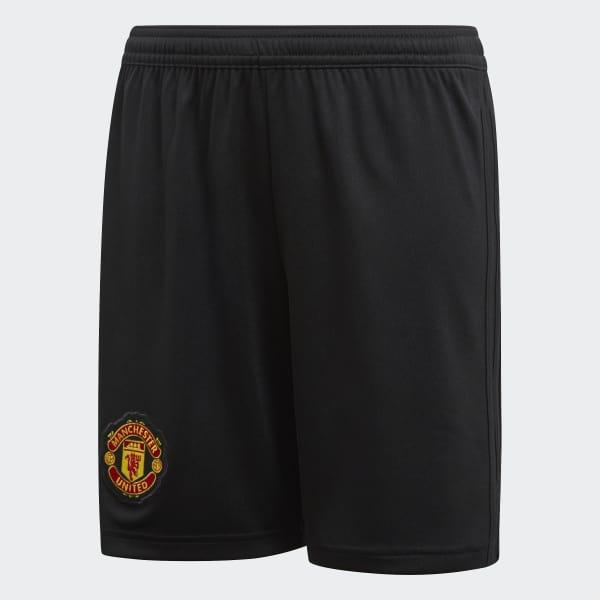 Shorts de Local Manchester United Réplica Negro CG0053
