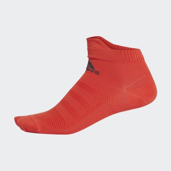 Alphaskin Ultralichte Enkelsokken rood CZ5288