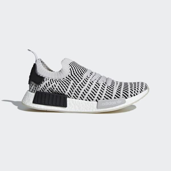 Zapatilla NMD_R1 STLT Primeknit Grey Two/Grey One/Core Black CQ2387