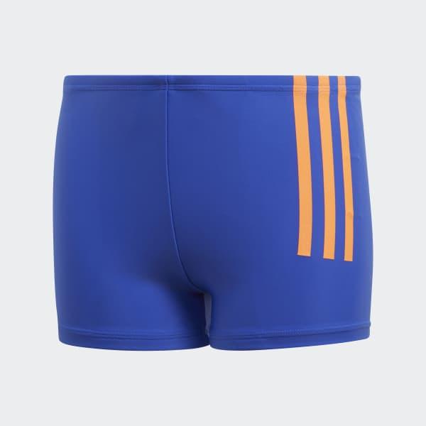 Back-to-School 3-Streifen Boxer-Badehose blau DL8873