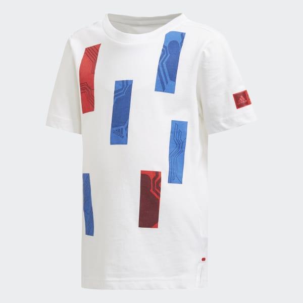T-shirt Marvel Spider-Man Bianco CF1485