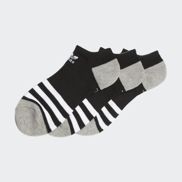 Roller No-Show Socks 3 Pairs Multicolor BH6444