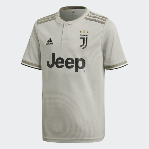 Juventus Uitshirt grijs CF3506