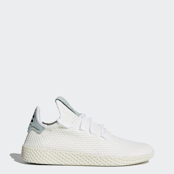 Pharrell Williams Tennis Hu Shoes White BY8716