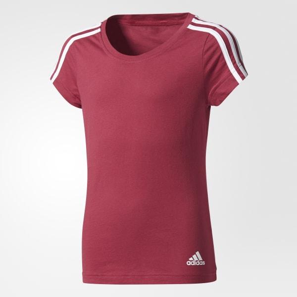 Camiseta 3 Rayas Essentials Rojo CF1741