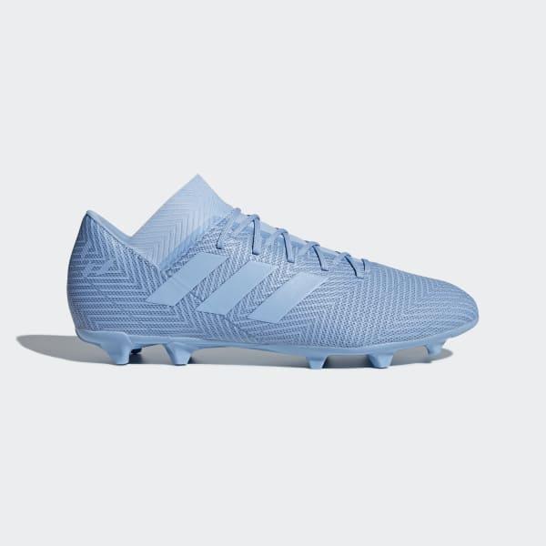 Bota de fútbol Nemeziz Messi 18.3 césped natural seco Azul DB2112