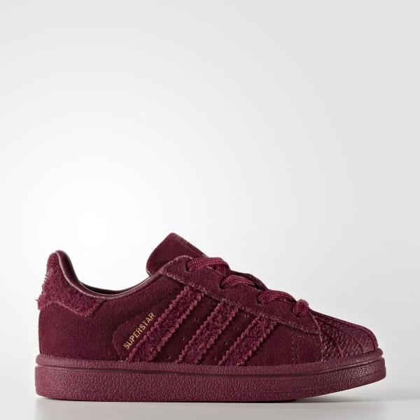 Chaussure Superstar rouge CG3742