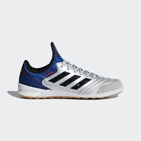 Copa Tango 18.1 Indoor Shoes Silver DB2193