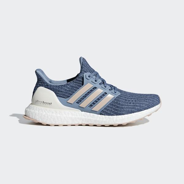 Ultraboost Schoenen blauw BB6493