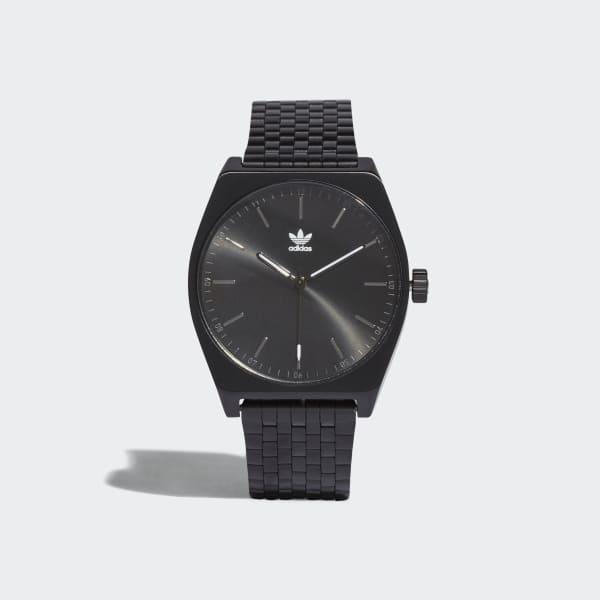PROCESS_M1 Horloge zwart CJ6336