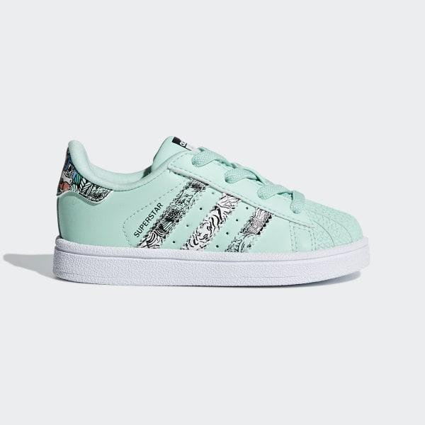 SST Schuh Clear Mint / Ftwr White / Ftwr White B75896