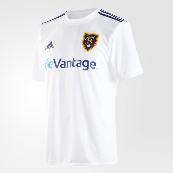 Real Salt Lake Away Jersey White AY7493