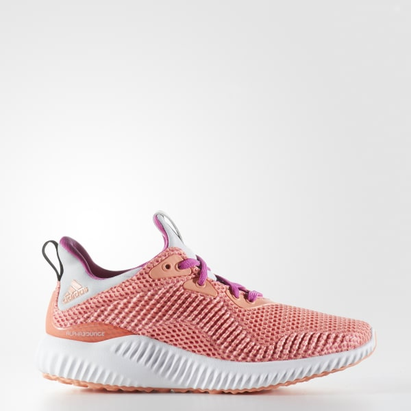 Chaussure alphabounce rose BY3433