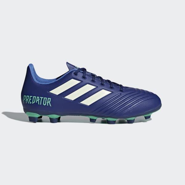 Scarpe da calcio Predator 18.4 Flexible Ground Blu CP9267