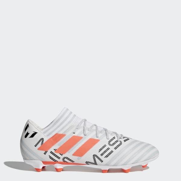 Scarpe da calcio Nemeziz Messi 17.3 Firm Ground Bianco CG2965