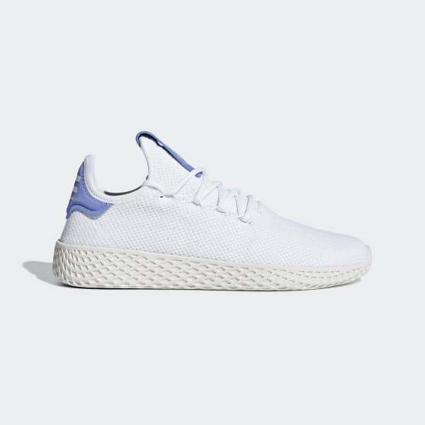 Chaussure Pharrell Williams Tennis Hu blanc BD8050