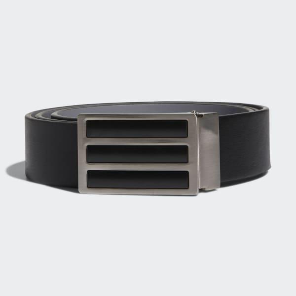 3-Stripes Solid Reversible Belt Black CZ1475