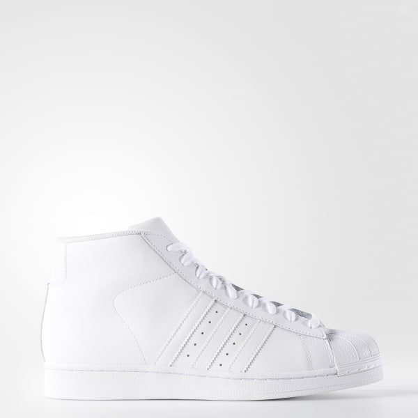 Pro Model Shoes White B27450