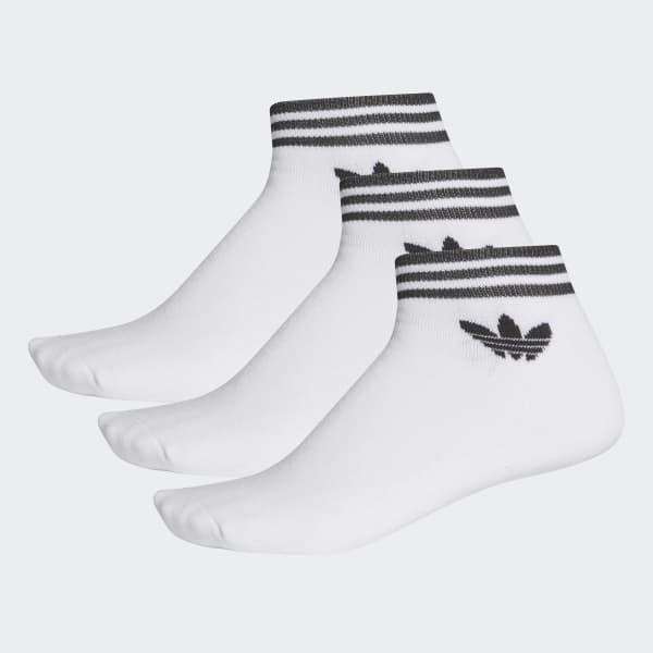 Socquettes Trefoil (lot de 3 paires) blanc AZ6288