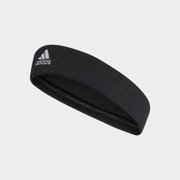 Tennis Stirnband schwarz CF6926