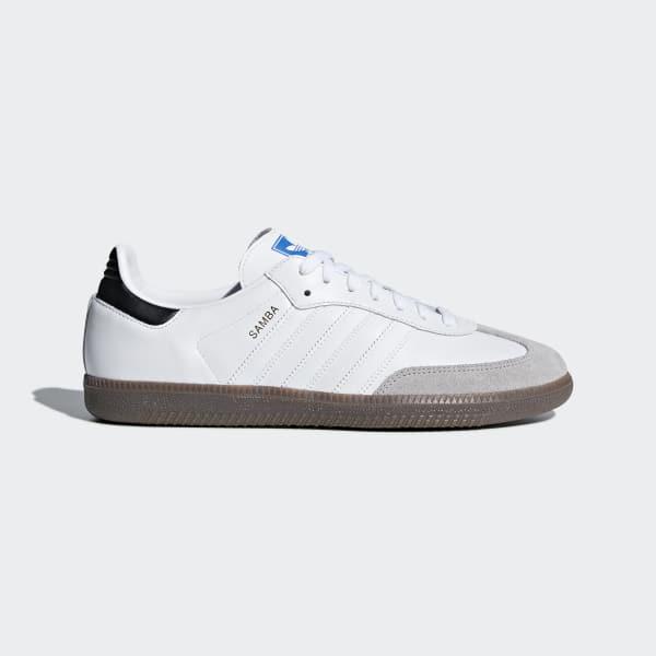 Chaussure Samba OG blanc B42067