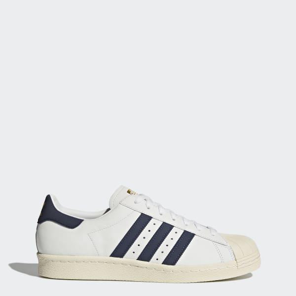 Chaussure Superstar 80s blanc BZ0145